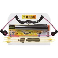 Martin Tiger Youth Bow Package (Pink/Camo, 10-20-Pounds)