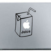 """Apple Juice MacBook Decal Skin Sticker for Pro, Air and Retina 11"""" 13"""" 15"""" inch"""