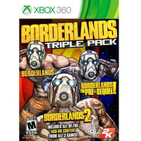 Borderlands Triple Pack Xbox 360 Video Game