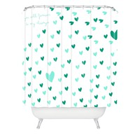 Hello Twiggs Forever Always Shower Curtain