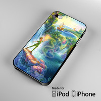 Take Me To Neverland, Peter Pan Quote A0932 iPhone 4S 5S 5C 6 6Plus, iPod 4 5, LG G2 G3, Sony Z2 Case