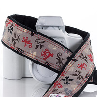 Spirit Symbols Camera Strap, Tribal, fits dSLR, SLR and Mirrorless cameras, Canon, Nikon, Sony, Pentax, Photography, 250