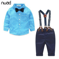 Nwad Plaid Sets For Baby Boys Ff032
