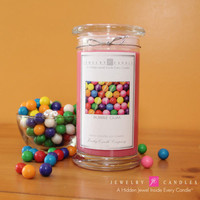 Bubble Gum Jewelry Candle