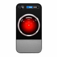 Hal 9000 Hello Dave iPhone 4 Case