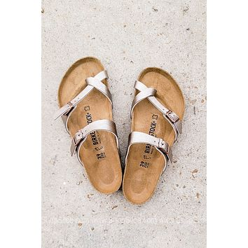 Mayari Birko-Flor Birkenstocks | Graceful Taupe