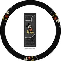 """Mickey Mouse """"Vintage"""" Steering Wheel Cover"""
