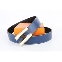Hermes belt men's and women's casual casual style H letter fashion belt258