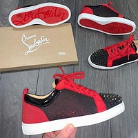 Christian Louboutin Red Nail Casual Shoes
