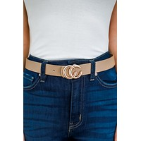Bold Choices Belt - Taupe