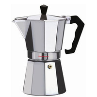 Wee's Beyond Aluminum Brew-Fresh Espresso/Coffee Maker 3-Cup 7526-03