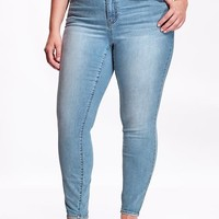 Old Navy Womens Plus The Rockstar High Rise Skinny Jeans