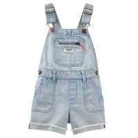 Denim Shortalls - Blue Ice Wash