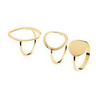 3-pack Rings - from H&M