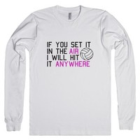 Anywhere-Unisex White T-Shirt