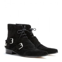 tabitha simmons - bryon suede ankle boots