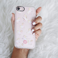 Cute iPhone 7 & 7 Plus Case (Magical Unicorns Pattern) by Casetify