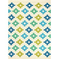 Mediterranean Tiles Outdoor Rug