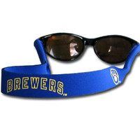 Milwaukee Brewers MLB Sunglass Strap