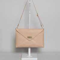 Totokaelo - COSMIC WONDER Light Source Letter Shoulder Bag - $431.00