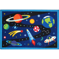 Fun Rugs Olive Kids Collection Out of This World Area Rug