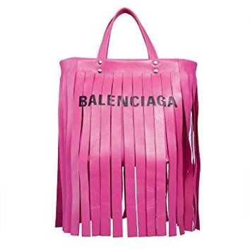 Balenciaga Women's 5178420K12N5565 Pink Leather Handbag