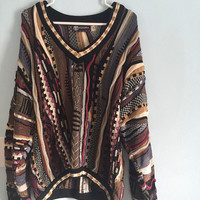 Vintage Tundra Sweater Hipster Large