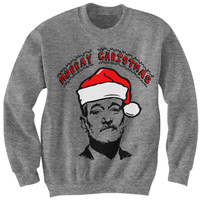 Bill Murray Christmas Sweatshirt
