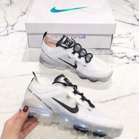 NIKE AIR VAPORMAX 2019 New Fashion Couple Models Full Palm Air Cushion Leisure Sports Shoes