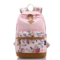 Casual Style Bookbags School College Backpacks Comfortable and Soft with Laptop Compartment