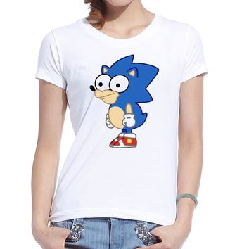 Shop Sonic The Hedgehog Shirt On Wanelo