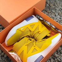 Nike Air Fear Of God 1 Fog Amarillo Sneakers - Best Online Sale
