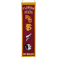 Florida State Seminoles NCAA Heritage Banner (8x32)