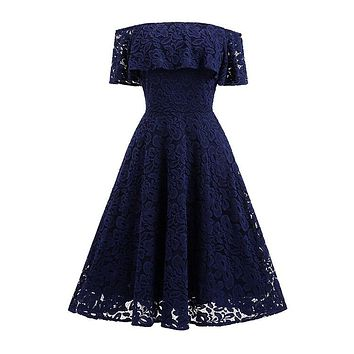 New Arrived Elegant Sexy Off Shoulder Back Open Fancy Women Lace Wedding Dress For Ball Gown