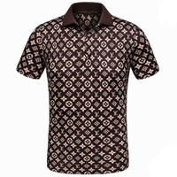 Boys & Men Louis Vuitton T-Shirt Top Tee-1