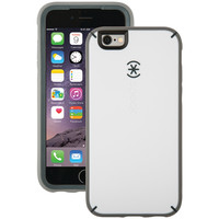 SPECK 73801-C118 iPhone(R) 6/6s MightyShell(TM) Case (White/Charcoal Gray/Slate Gray)