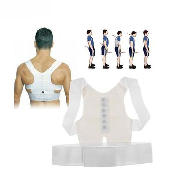agnet Posture Corrector Braces Support Body Corset Back Belt Brace Shoulder For Men Women Care Health Adjustable Posture Band