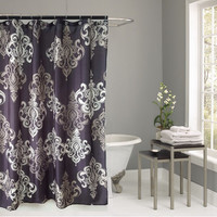 """100% Polyester Fabric Shower Curtains printing Demask design home products washable Bathroom Shower Curtains 70*72"""" 1PCS/LOT"""