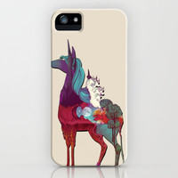 The Last Unicorn iPhone Case by Nellfoxface