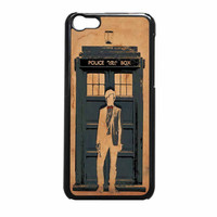 Tardis Doctor Who Quote Galaxy Word Art Tardis Doctor Who In Galaxy iPhone 5c Case
