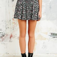 Pins & Needles Lace Insert Slip Skirt in Floral - Urban Outfitters