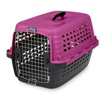 """Petmate Compass Fashion Pet Kennel Carrier Pink Sz: Small 24"""""""