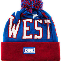 The West Coast Beanie in Blue