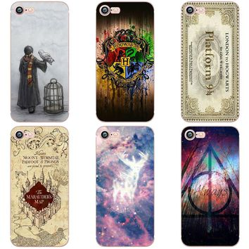 OWNEST Harry Potter Case for iphone 6 6S 5s SE 7 7plus Soft Silicone TPU Phone Back Cover Capinha Coque