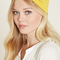 Gathered-Front Headwrap | Forever 21 - 1000204422