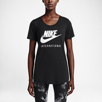 The Nike International Women's Boyfriend T-Shirt.