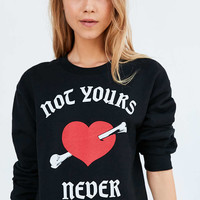 Silence + Noise Not Yours Pullover Sweatshirt - Urban Outfitters