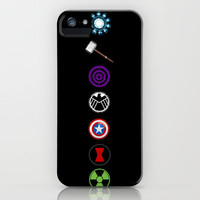 Avengers iPhone & iPod Case by Stasya Designs