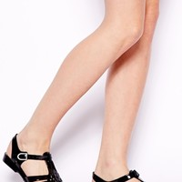 ASOS FUNKY Gladiator Jelly Shoes
