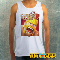 Clash of Clans COC Barbarian Clothing Tank Top For Mens